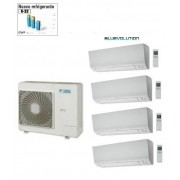 Daikin Kit Quadri Perfera 4mxm68m/n + 4 X Ftxm20m 7+7+7+7 + Consulenza Pratica Enea In Omaggio