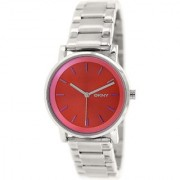 DKNY Quartz Red Dial Women Watch-NY2267