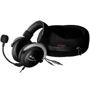 HEADPHONES, Kingston HyperX CloudX, Microphone, Gaming, Silver (HX-HSCX-SR/EM)