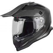 Just1 J14 Adventure Solid Motocross Helmet Grey L