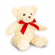 Ursulet de plus traditional Keel Toys, 20 cm, Crem, 3 ani+