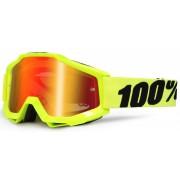 100% Accuri Extra Děti Motokrosové brýle Jedna velikost žlutá