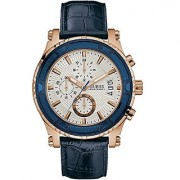 Guess Pinnacle White Dial Chronograph Mens Watch -W0673G6