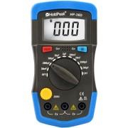 HOLDPEAK 36D Digitális kapacitásmérő kijelző háttérvilágítás adattárolás.