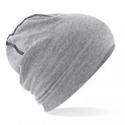 Beechfield Sportmuts grijze katoen voor heren