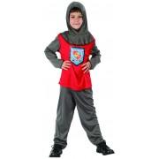 Vegaoo Riddardräkt för barn till maskeraden 120 - 130 cm M (7 - 9 år)
