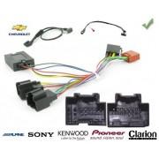 COMMANDE VOLANT CHEVROLET SPARK 2012- - Pour SONY complet avec interface specifique