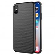 Capa de Fibra de Carbono Nillkin Synthetic para iPhone X - Preto