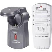 Set priza intermediara wireless si telecomanda RSL pentru exterior, 2000 W