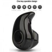 Bluetooth Headset S530 Mini Wireless Bluetooth Headset Hands-Free with Mic for All Smartphone /PC/Laptop(Black)