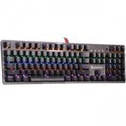 Геймърска механична клавиатура A4tech Bloody, B810R NETBEE, Сини суичове, Карбон, A4-KEY-B810R-NETBEE