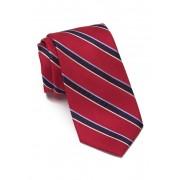 Nautica Bevin Floral Silk Blend Tie RED