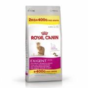 Royal Canin Exigent Savour Sensation, 2 kg + 400 g Gratis