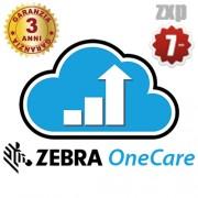 3 anni contratto di assistenza ZXP Serie 7 - ZEBRA OneCare -Z1AE-ZX7X-3C0