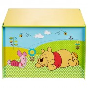Disney Toy Box Winnie the Pooh 60x40x40 cm Blue Wood WORL104003
