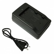 Cargador de bateria EL3E + cable cargador EU para camaras DSLR nikon - negro