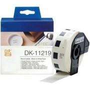 Italy's Cartridge ETICHETTE DK11219 12mm COMPATIBILI BIANCHE ROTOLO DA 1200 PZ PER BROTHER QL1000 1050 1060 WHITE DK-11219 CON SUPPORTO
