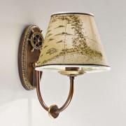 Nautica maritime wall light, one-bulb, 25 cm