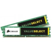 Corsair CMV8GX3M2A1333C9 Value Select Memoria per Desktop Mainstream da 8 GB (2x4 GB), DDR3, 1333 MHz, CL9