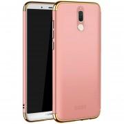 MOFI Empalme Tres Etapa Plena Cobertura PC Case Para Huawei Mate 10 Lite / Maimang 6 (oro Rosa)