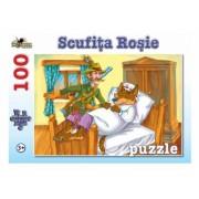 Puzzle Scufita Rosie 100 piese Noriel
