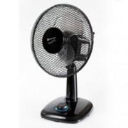 Настолен вентилатор Rohnson R-828, 400mm. диаметър, 3 скорости с LED подсветка, 50W, черен