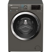 Masina de spalat rufe cu uscator Beko HTV8736XC0M, 8kg/ 5kg, 1400 rpm, 15 programe, Display, Child Lock, Motor ProSmart™ Inverter, HomeWhiz®, Clasa A, Manhattan Gray