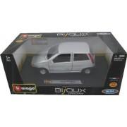 Bburago 2011 Bijoux 1:24 Scale Silver Fiat Punto (1993)