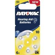 Baterii proteze auditive Rayovac Acoustic HA10, 6 buc.