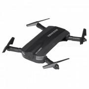 JXD 523 Wi-Fi FPV plegable Mini Drone RC Quadcoptero con camara - Negro