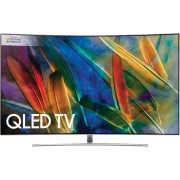 "Samsung QE55Q8C 55"" Curved Ultra HD QLED Television - Silver"