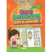 Jocuri pentru copii inteligenti +5 ani. Carte de activitati