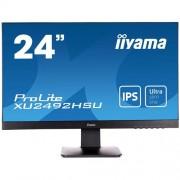 24'' LCD iiyama XU2492HSU-B1 - IPS, 5ms, 250cd/m2, 1000:1 (5M:1 ACR), DP, USB hub, HDMI, repro