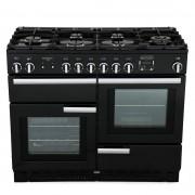 Rangemaster PROP110NGFGB/C Professional Plus Gloss Black 110cm Gas Range Cooker