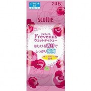 Crecia «Scottie Frevenus» Освежающие влажные салфетки с гиалуроновой кислотой, аромат розы и фруктов, 24 шт.