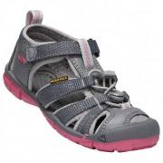 Keen - Kids Seacamp II CNX - Sandales de marche taille 9K, gris