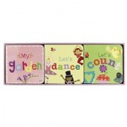 Jill McDonald Kids Set of 3 Little Chunky Books Girly Girl