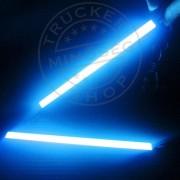 COB LED-es belső világítás 12V kék