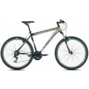 "Bicicleta MTB Capriolo Level 7.1, Cadru 20"", Roti 27.5"" (Gri/Verde)"