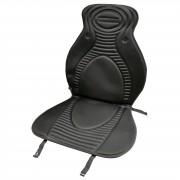 Ülésvédő fűthető 12V fekete H006