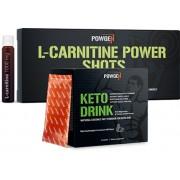 PowGen Keto Power Paket mit MCT und L-Carnitin