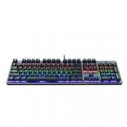 Клавиатура Trust GXT 865 Asta, гейминг, механична, подсветка, USB