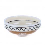 Castronel ceramica traditionala colorata Corund 10 cm