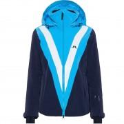 J.Lindeberg Women Jacket WRANGALL fancy blue/navy