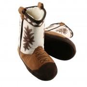 Merkloos Bruine cowboylaars sloffen voor kinderen