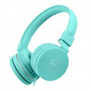 PICUN C30 Children 3.5mm Foldable Over-Ear Headphone - Cyan