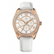 Ceas Tommy Hilfiger for Woman White & Gold