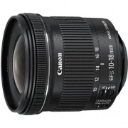 Canon Obiettivo Ef-S 10-18is Stm+paraluce+panno Ew-73c