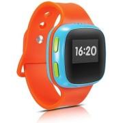 """Smartwatch Alcatel CareTime, Ecran OLED 0.95"""", Wi-Fi, 2G, rezistent la apa, dedicat pentru copii (Portocaliu)"""