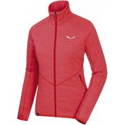 Salewa Puez Melange - giacca in pile - donna - Light Red